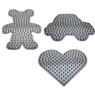 Playbox Pärlplattor 3-Pack för XL Pärlor, 2456209