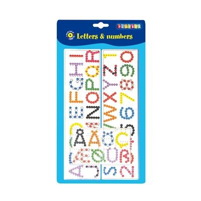 Playbox Pärlplattor ABC & 123, 2456305