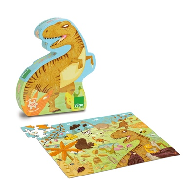 Vilac Pussel 100 Bitar Dino, 2611