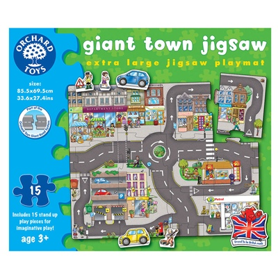 Orchard Toys Pussel 15 Bitar Giant Town, 288OR