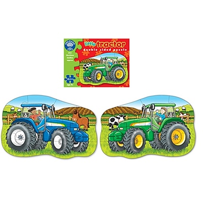 Orchard Toys 2-sidigt Pussel Little Tractor, 300