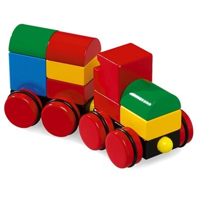 BRIO Byggtåg med Magneter, 30124