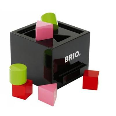 BRIO Plocklåda Svart, 30144BR