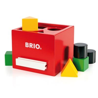 BRIO Plocklåda Röd, 30148