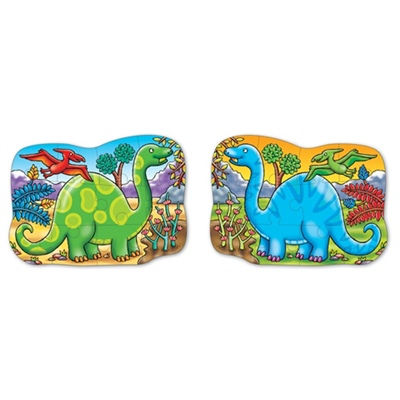 Orchard Toys 2-sidigt Pussel Dino Diplodocus, 302OR