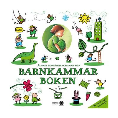 Musiksaga CD Barnkammarboken Grön Volym 5, 33424403