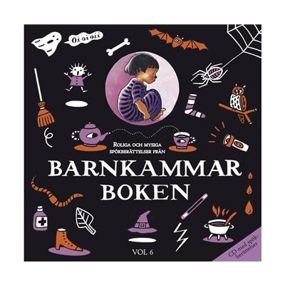 Musiksaga CD Barnkammarboken Svart Volym 6, 33424793