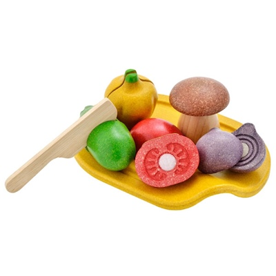 PlanToys Assorted Vegetable Set, 3601