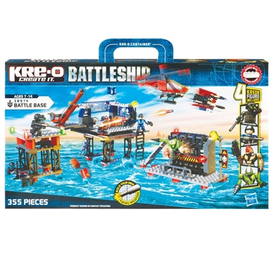 KRE-O Battleship Battle Base, 38974
