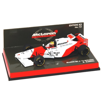 McLaren MP 4/10 Mercedes-Benz 1:43, 4012138013377