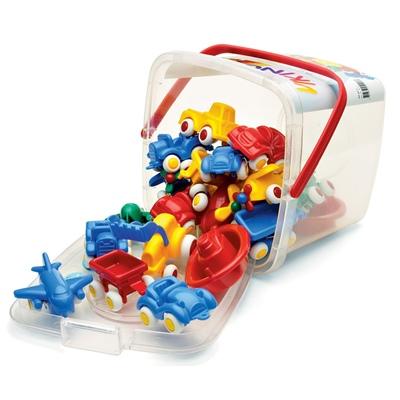 Viking Toys Mini Knubbisar 20 st i Hink, 41120