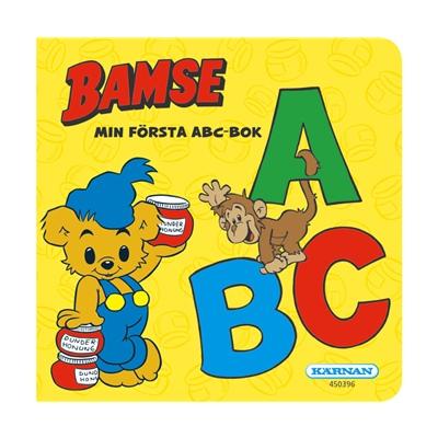 Kärnan Bamse Min Första ABC-Bok, 450396