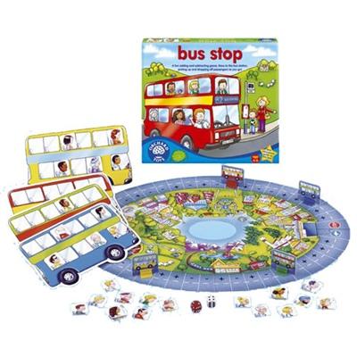 Orchard Toys Bus Stop - Träna plus och minus, 5011863100146