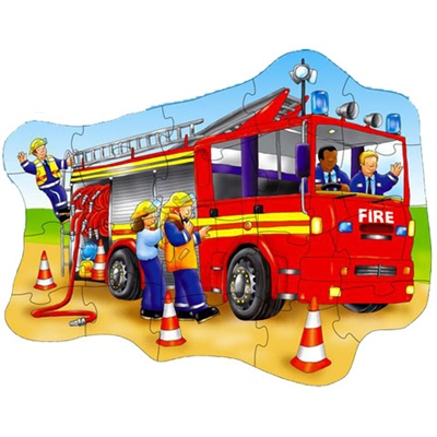 Orchard Toys Pussel 20 Bitar Big Fire Engine, 5011863300256