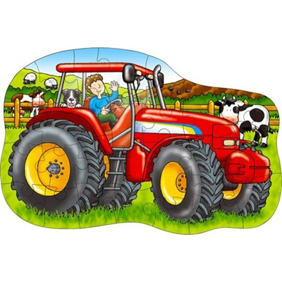 Orchard Toys Pussel 25 Bitar Big Tractor, 5011863300270