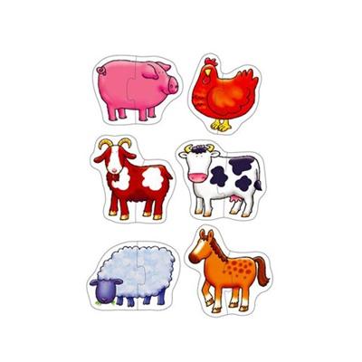Orchard Toys Pussel 2 Bitar Farmyard, 5011863301024