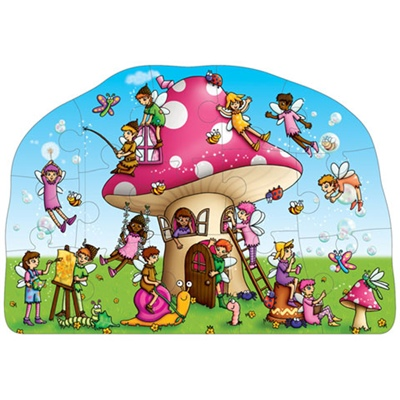 Orchard Toys Pussel 15 Bitar Fairy Cottage, 5011863301420