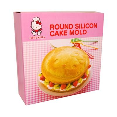 Hello Kitty Rund Silikonform, 50710-5