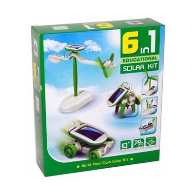 Solcells Kit 6-i-1, 50766