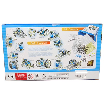 Solar Robot Kit 14-i-1, 50798