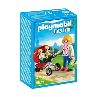 Playmobil Mamma med Tvillingvagn, 5573