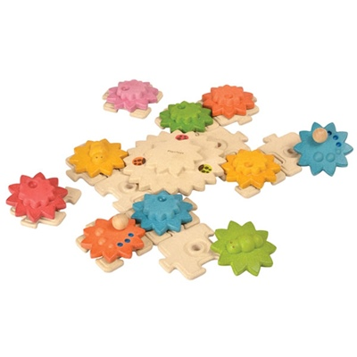 PlanToys Gears 6 Puzzles Deluxe, 5636PT