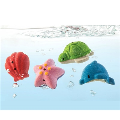 PlanToys Sea Life Bath Set, 5658PT
