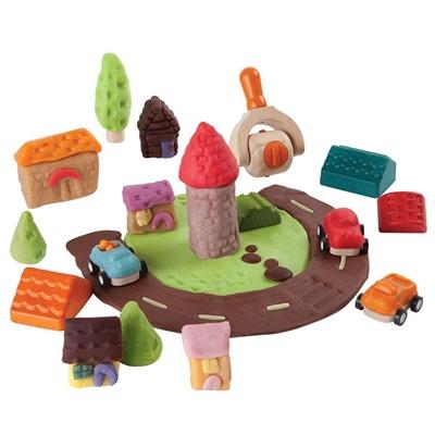 PlanToys Build-A-Town Dough Set, 5699