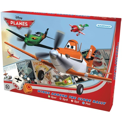 Kärnan Disney Planes Spel Wings Around the Globe Rally, 600242