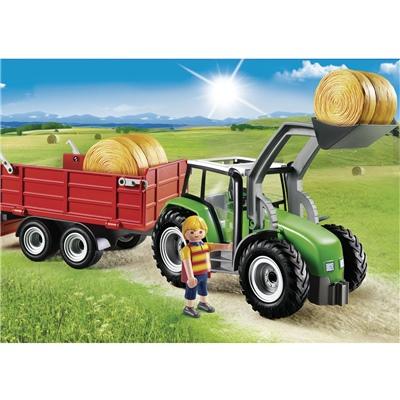 Playmobil Stor Traktor med Släp, 6130