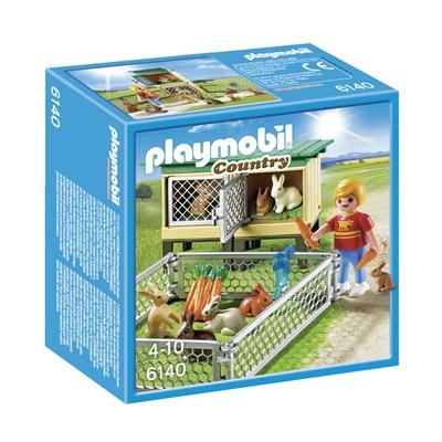 Playmobil Kaninbur med Utomhusinhägnad, 6140